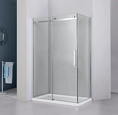 Box ducha 120 x 90 x 190 con cristal templado 8 mm: Amazon.es: Hogar