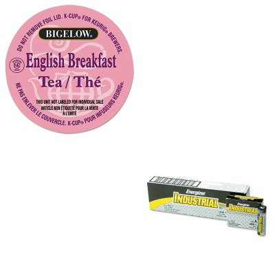 Energizer Drink - KITEVEEN91GMT6080 - Value Kit - Bigelow Breakfast Blend Tea K-Cups Pack (GMT6080) and Energizer Industrial Alkaline Batteries (EVEEN91)