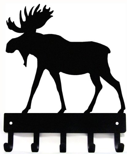 Moose Key Hanger - Small 6 inch