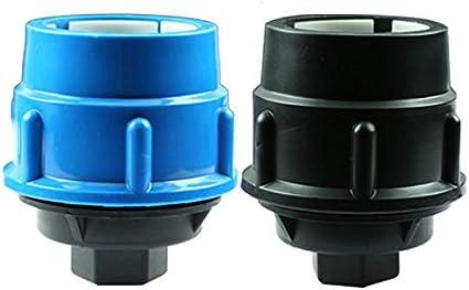 32 mm Raccordo per tubo di irrigazione 1 tappo terminale in PE per tubo di irrigazione in plastica per tubo di irrigazione in MDPE da 20 mm 25 mm