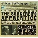 Leonard Bernstein / New York Philharmonic / Dukas Sorcerer's Apprentice / Saint-Saens Danse Macabre, Op. 40 / Chabrier Espana / Ravel Pavane  / Offenbach: Orpheus Overture