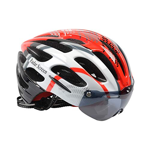 - Radar Screen Bicycle Helmet, Mountain Bike Helmet with CPSC Safety Certified Ultra Lightweight Cycling Helmet with Adjustable Thrasher for Adult