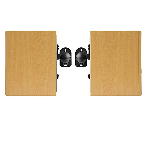 Vonhaus Speaker Mounts Pack Of 2 Black Universal Wall