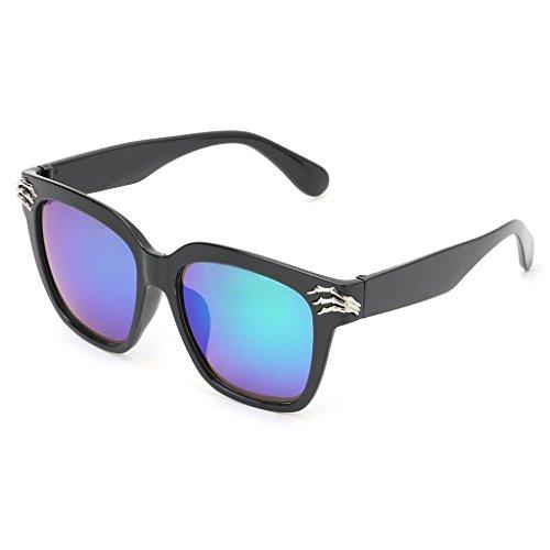 diseño UV400 de 4 Gafas Sol de Calavera cuadradas Kimruida 5 XCp1xC