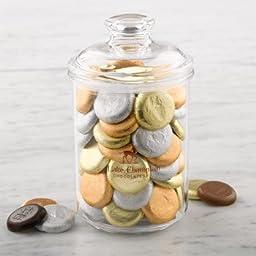 Chocolate Coin Gift Jar