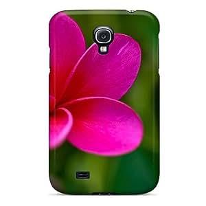 High Grade MichelleNCrawford Flexible Tpu Case For Galaxy S4 - Pink Plumeria