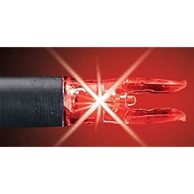 Rage NockTurnal S Lighted Nock Red by Double Take Archery