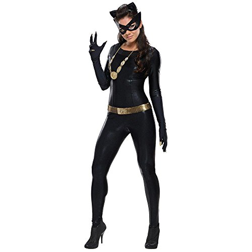 Catwoman Grand Heritage Adult Womens Costumes (Warner Bros. Women's Batman 1966 Catwoman Grand Heritage Costume Small)