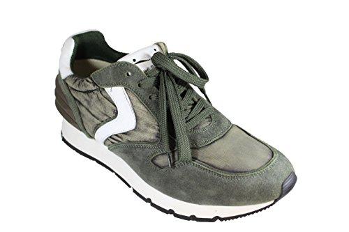 Salida Fiable Voile Blanche Sneakers in camoscio e Tessuto Tecnico Venta Eastbay M6wbF
