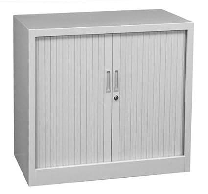 Lüllmann 555080 - Mueble archivador con puerta corredera, 750 x 800 x 460 mm (