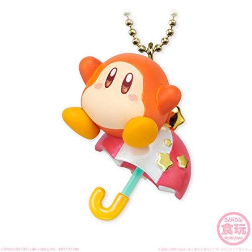 Bandai Twinkle Dolly Kirby Figure Swing Keychain~Waddle Dee