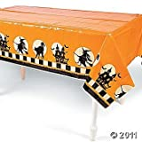 "Plastic Halloween Party Table Cover 54"" x 108"""