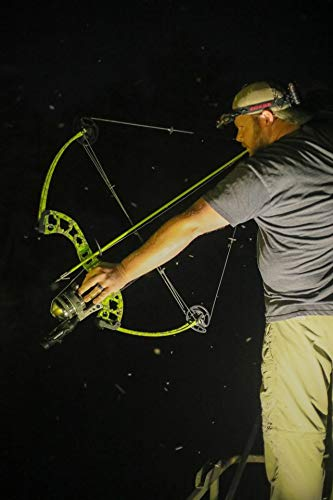 Muzzy 1420-CBS Classic Chartreuse Fish Arrow with Carp Point (nock, bottle slide installed)