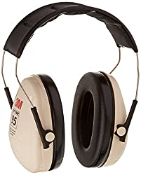 3m Peltor H6a\v Optime 95 Over The Head Noise Reduction Earmuff, Hearing Protection, Ear Protectors, Nrr 21db, Ideal For Machine Shops & Power Tools