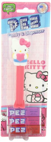 PEZ Assortment, Hello Kitty, 0.87 Ounce (Pack of 12)