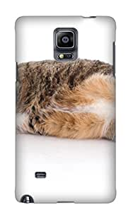 Exultantor Yyzsgc-5480-gqirucw Case For Galaxy Note 4 With Nice Animal Cat Appearance