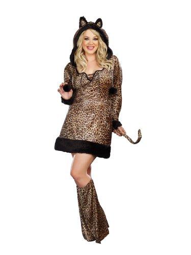 cheetah dress plus size - 5