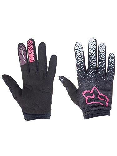 2018 Fox Racing Womens Dirtpaw Gloves-Black/Pink-L ()