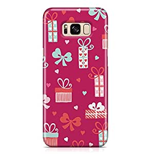 Samsung S8 Case Cute Heart Pattern Gift For Loved Ones, Great For Girls Scratch Resistant Protective Samsung S8 Cover Wrap Around 35