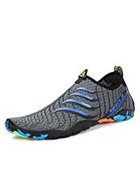 SAGUARO Breathable Water Shoes Neoprene Aqua Socks Barefoot On Beach Pool Swimming Walking for Men Women