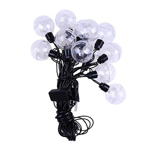 Fan-Ling 1PCS Stage Colorful Flash Decor Light String Decoration Lights with 10 - Lightning Bathroom Mirrors
