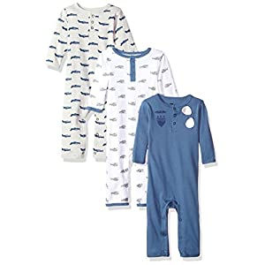 Best Epic Trends 41mdUiYUw%2BL._SS300_ Hudson Baby Unisex Baby Cotton Coveralls