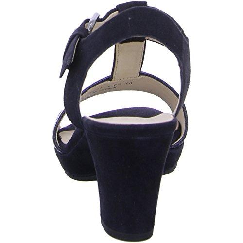 Gabor Ladies Comfort Open Sandali Blu