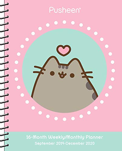 Pdf Entertainment Pusheen 2019-2020 Weekly/Monthly Planner Calendar