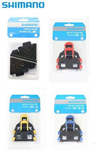 Shimano SPD-SL SM-SH11 Cleat Set for Road (Yellow Cleat)