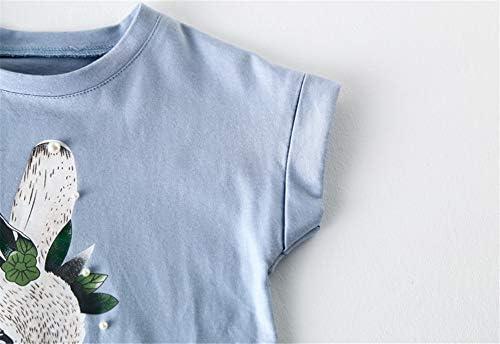 Zhengpin Baby Girls Owl Print T-Shirt Dress Autumn Clothes Long Sleeve Party Tops