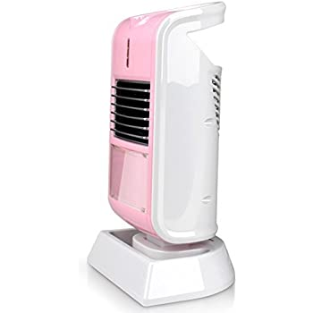 Mini Heater by C&L, Perfect for personal Use In the Office,Home, Or when travel to cold places. Automatic Over Heat Protection And Angle Adjustable. (Pink)
