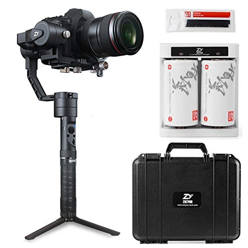 Zhiyun Crane Plus Zhiyun Crane V2 Upgrade Version in 2018 3-Axis Handheld Gimbal Stabilizer 5.5lb Payload FPV Mode Intelligent Object Tracking Motion Memory Nightlapse