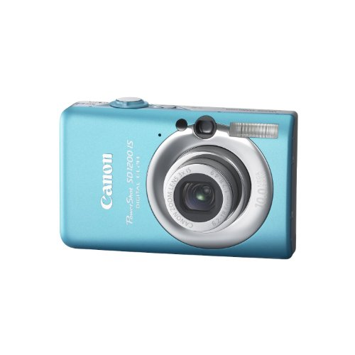 Canon PowerShot SD1200IS 10 MP Digital Camera with 3x Optical Image Stabilized Zoom and 2.5-inch LCD (Blue), Best Gadgets