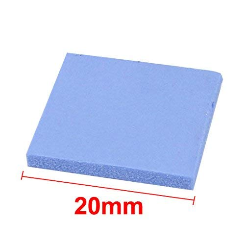Amazon.com: ZCHXD 4pcs 2mm x 20mm x 20mm Square Silicone ...