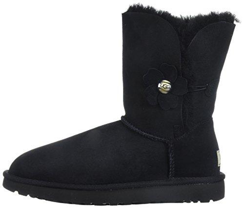 Bailey Button Black Poppy Grey Ugg Violet Boots v5qzwF