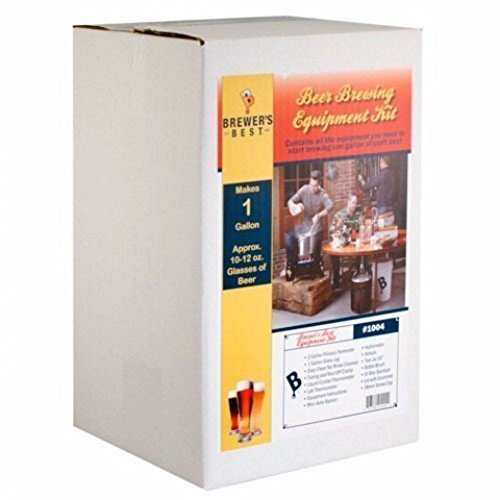 Brewers Best 1004 BB-1Gal-Beer 1 Gallon Equipment Kit, 1 by Brewers Best
