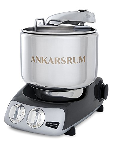 Ankarsrum Original 6230 Black Chrome and Stainless Steel 7 Liter Stand Mixer ()