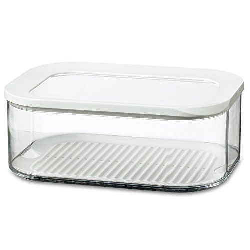 Cheese Box (Rosti Modula Storage Box with Clear Lid 2000-Millilitre Capacity Cheese box)