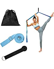 evebel Leg Stretcher Band Door Flexibility & Stretching Leg Strap Dance Stretch Strap for Adults Kids Ballet Dance and Gymnastic Exercise Stretch Band Perfect Home Equipment for Ballet Yoga