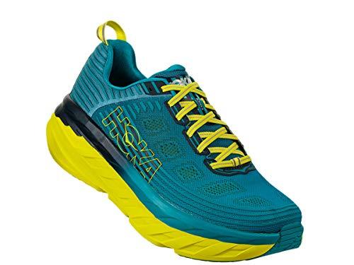 Hoka One One(ホカオネオネ) メンズ 男性用 シューズ 靴 スニーカー 運動靴 Bondi 6 - Carribean Sea/Storm Blue 10.5 D - Medium 並行輸入品