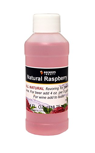 Brewer's Best 3750 Natural Beer and Wine Fruit Flavoring (Raspberry)