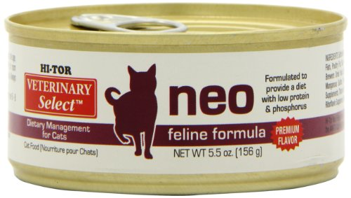 Hi-Tor Neo Diet For Cats 24/5.5-oz cans (Best Diet For Cats With Kidney Disease)