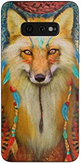 product image for Wise Fox Protective Decal Sticker for Samsung Galaxy s10e - Scratch Proof Vinyl Skin Wrap Thin Edge Line Cover and Made in USA