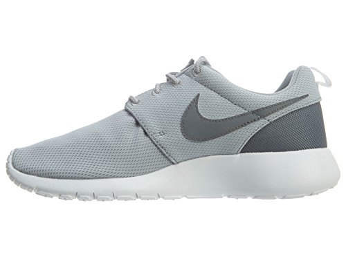 Nike Boys Grade School Roshe One Casual Shoes Lupo Grigio / Cool Grigio / Bianco (5)