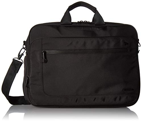 Travelon Anti-Theft Urban Messenger Briefcase, Black