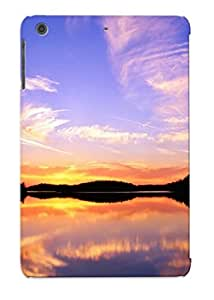 Crooningrose Durable Defender Case For Ipad Mini/mini 2 Tpu Cover(landscapes Nature Canada Lakes Skyscapes Land Lake Ontario ) Best Gift Choice