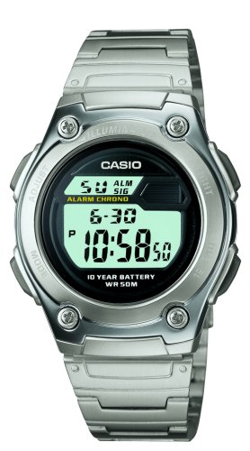 Casio Men's W211D-1AV Digital Sport Watch ()