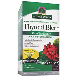 Natures Answer Thyroid Complete Liquid Caps, 90 ct by Nature's Answer