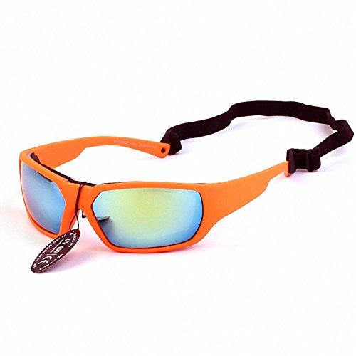 Explosion-proof Windproof Outdoor Riding Goggles Men Bike Motorcycle Glasses (Orange)