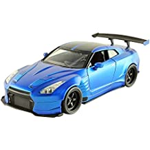 Jada Toys Fast & Furious Diecast '09 Nissan GTR Ben Sopra Vehicle (1: 24 Scale)